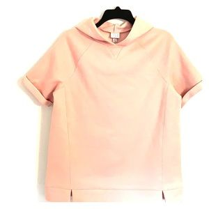 A new day pink hooded sweatshirt top NWT